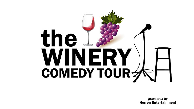 WINERY COMEDY TOUR - September 3rd
