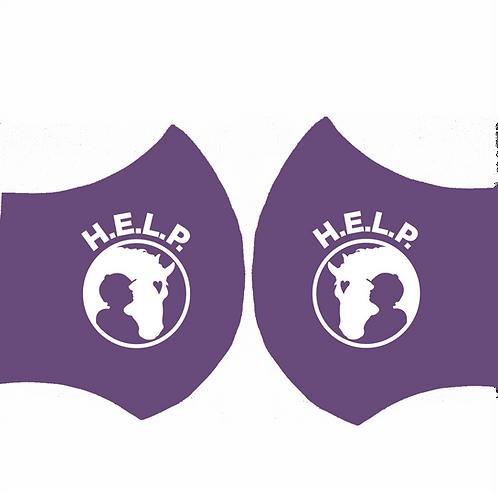 MASK-H.E.L.P. Purple (2 Side Print)