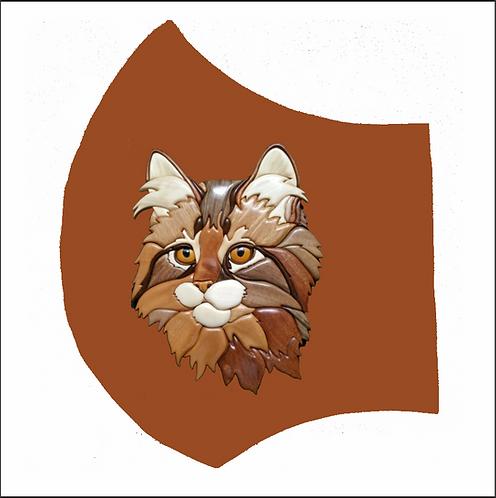 Cat - Left Side of Mask