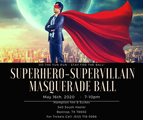 Superhero-Supervillain Masquerade Ball (