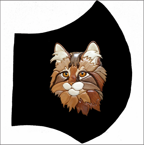 Cat - Right Side of Mask