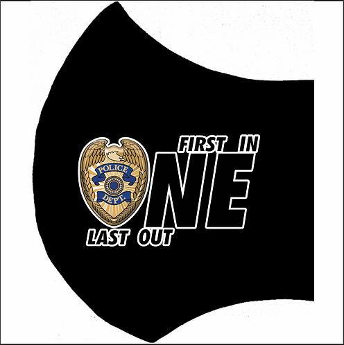 MASK-POLICE-FirstInLastOut Left