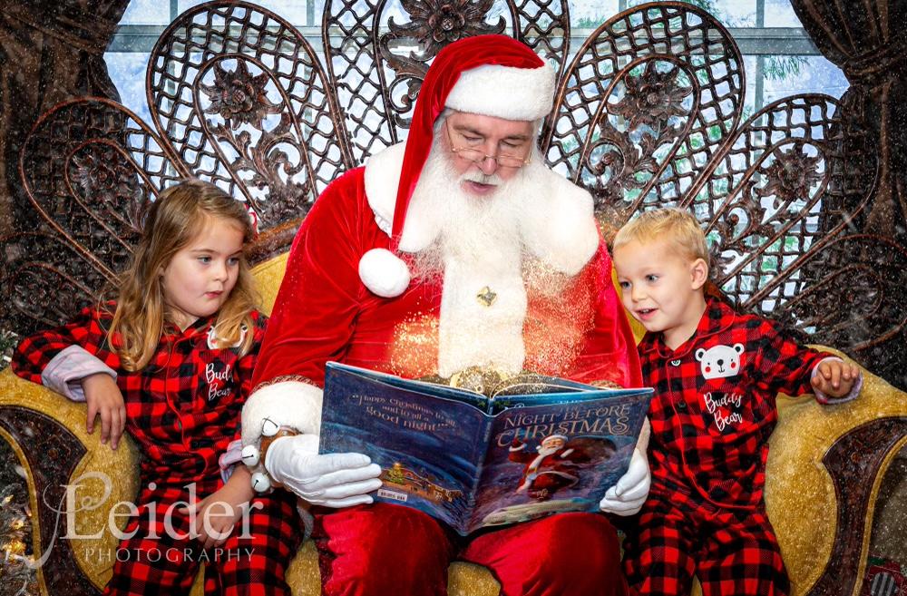 Santa Guy Reading