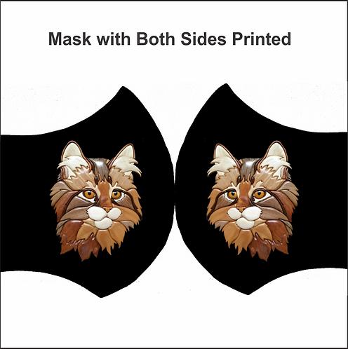 MASK-CAT (2 Side Print)