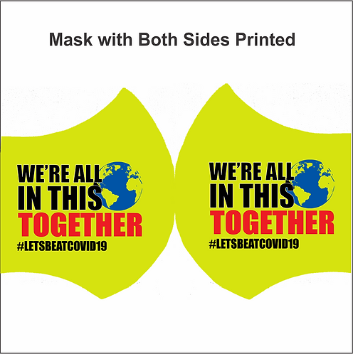 MASK-All In This Together (2 Side Print)