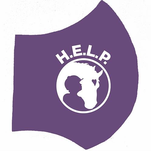 H.E.L.P. Purple Mask-Right