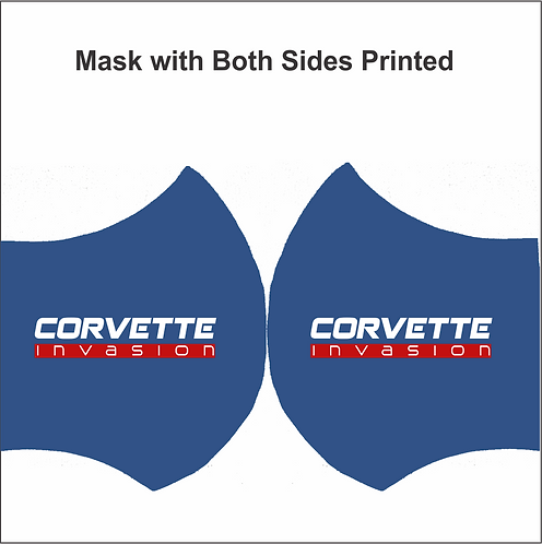 MASK-Corvette Invasion (2 Side Print)