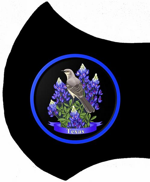 Texas Bluebonnet Mask