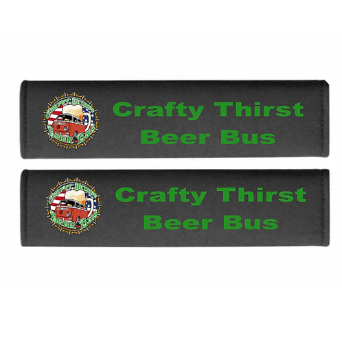 Seatbelt Cover - Crafty Thirst Beer Bus