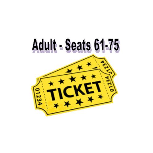 Adult Seats 61-75