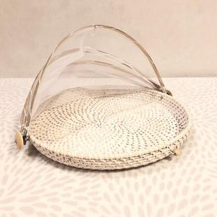 ⑤ラタンフードカバー小(Rattan food cover small) 880円