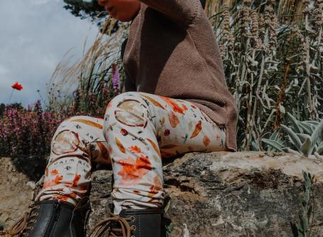 Autumn Collection catalogue of bespoke children's clothes, part 1.