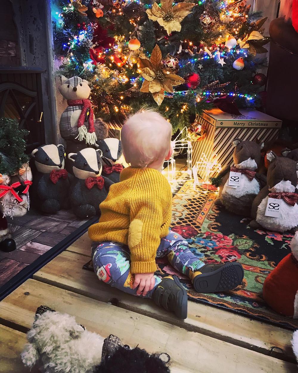 Boys Christmas leggings
