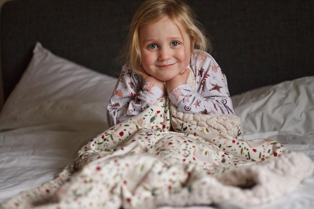 creative family blanket personalised