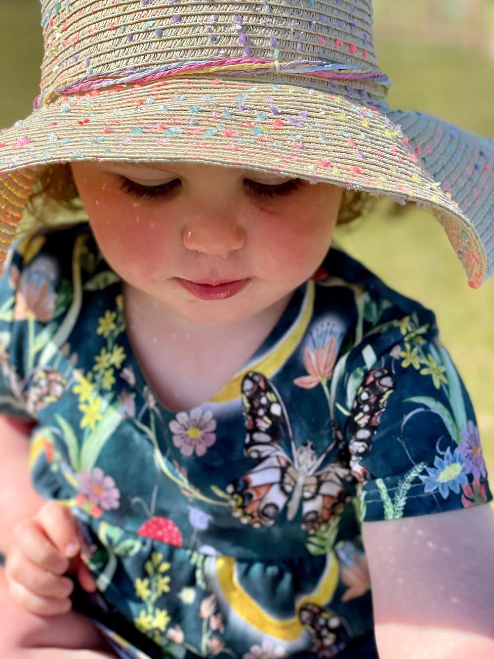 handmade summer dresses for baby girl