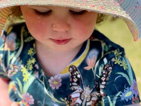 Handmade summer dresses for baby girls