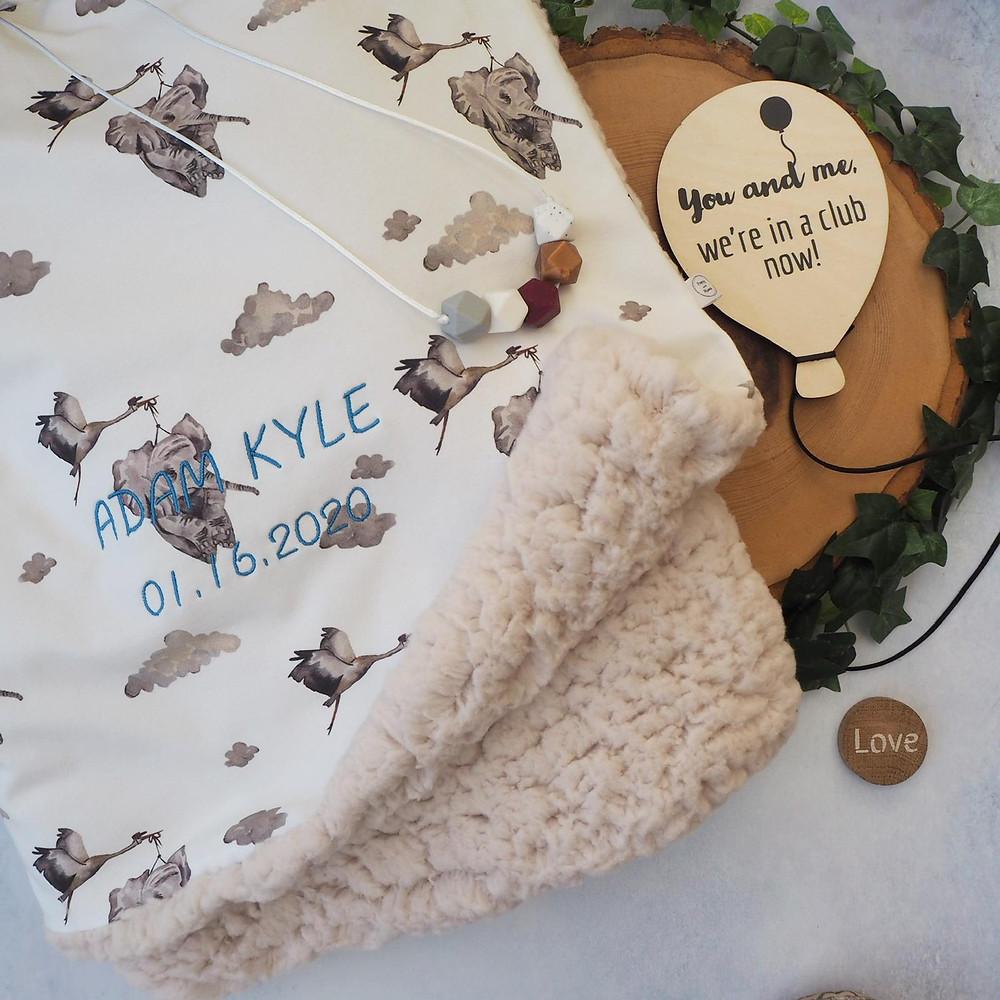 creative family blanket