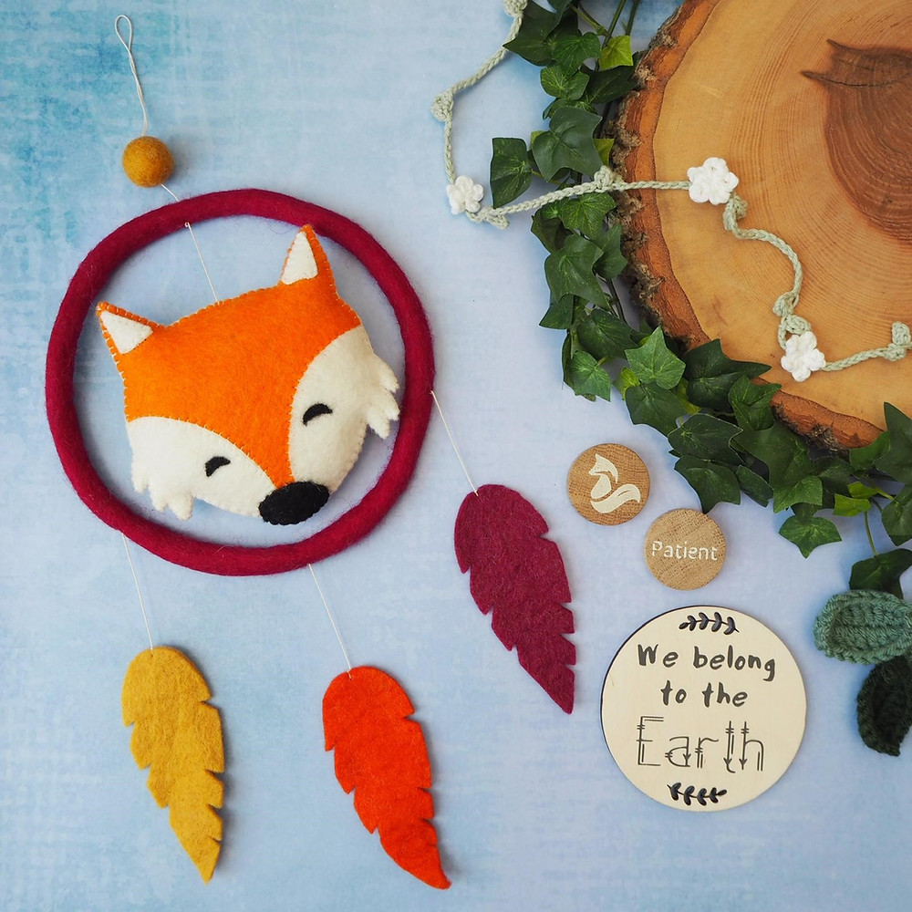 Fox dream catchers for children