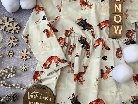 Popsy and Mama's new handmade winter baby and children's clothes collection.