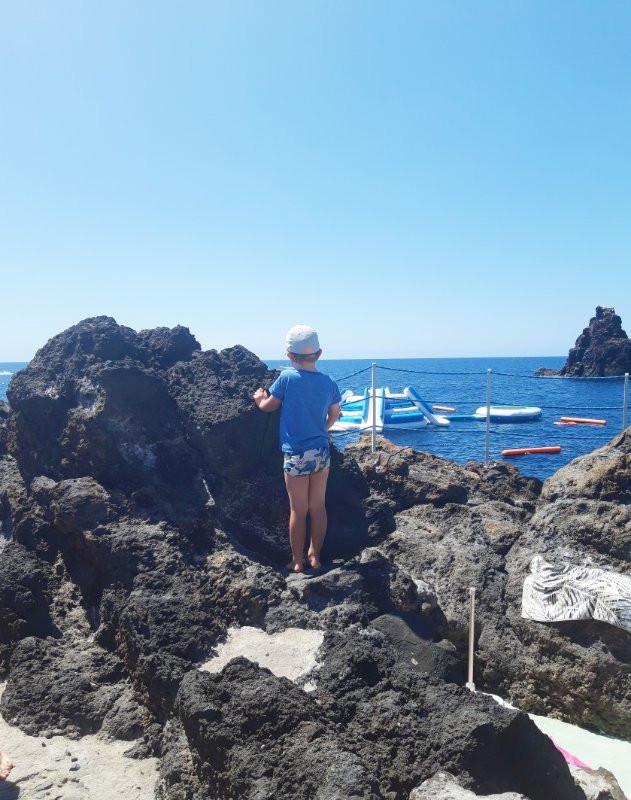 Sea near Funchal, Madeira