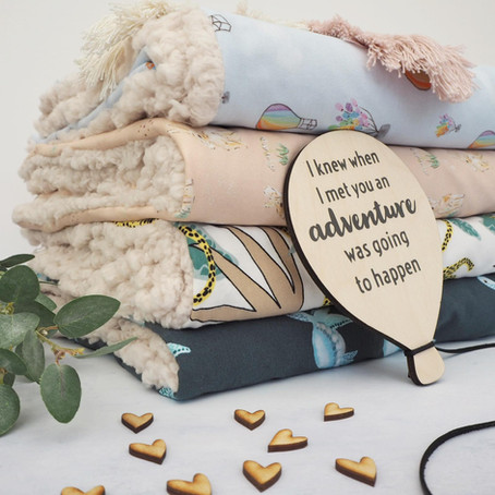 Creative and personalised family blankets for snuggling up together