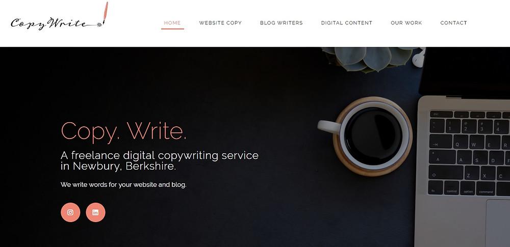 Freelance copywriter Berkshire