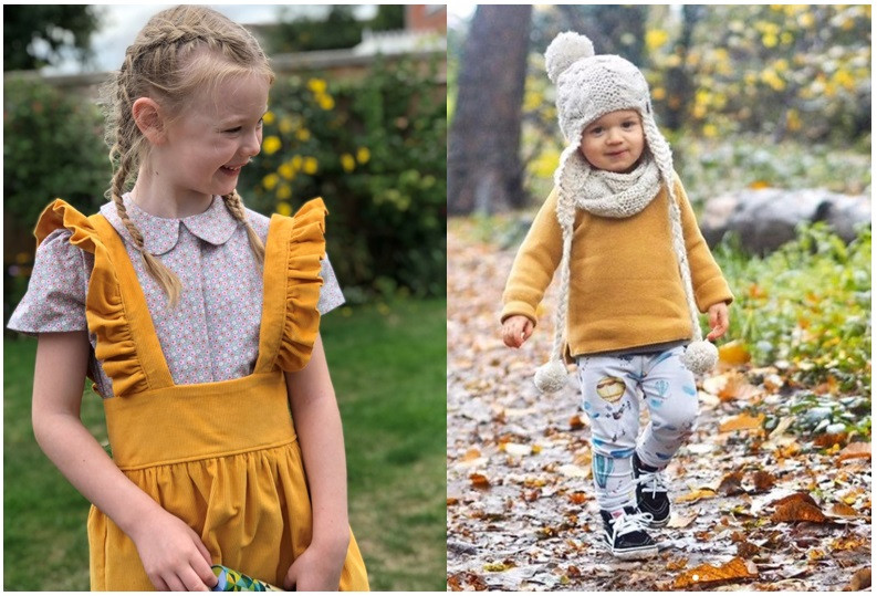 Popsy and Mama children's clothes