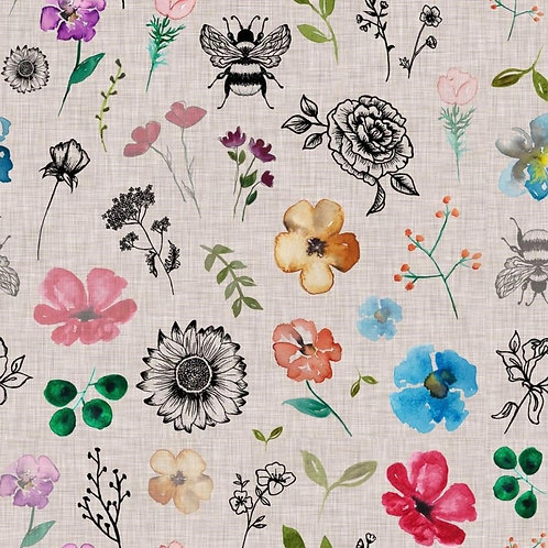 Flowers and Bee - Older Children 6-10 years