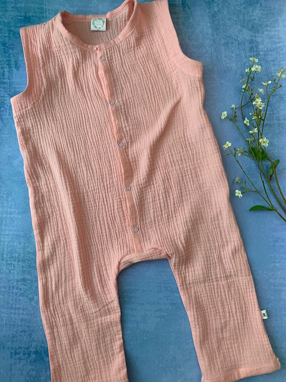 Handmade baby summer clothes