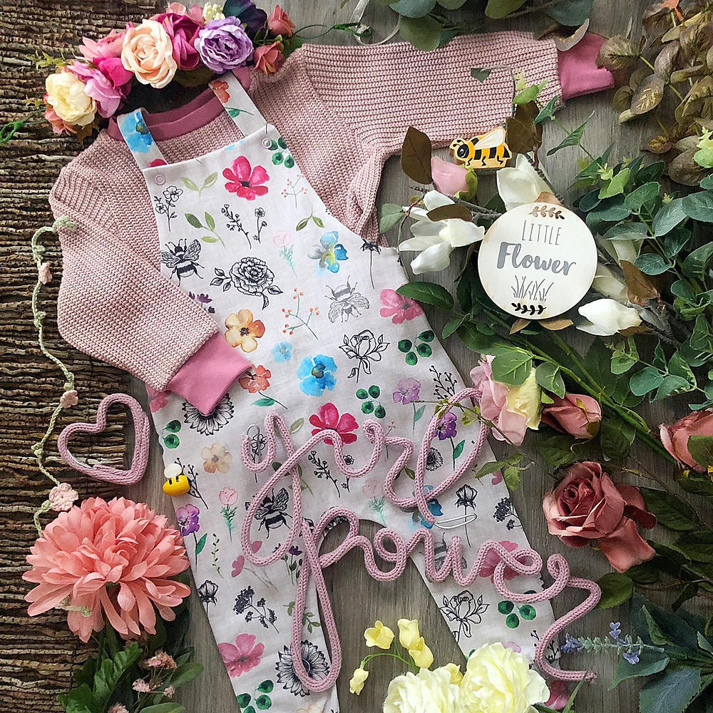 Handmade children's clothes Berkshire