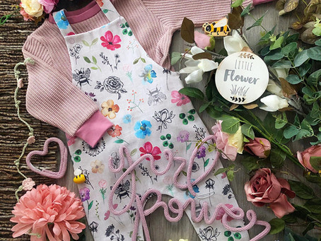 Handmade baby and children's clothes sewn with love in Berkshire