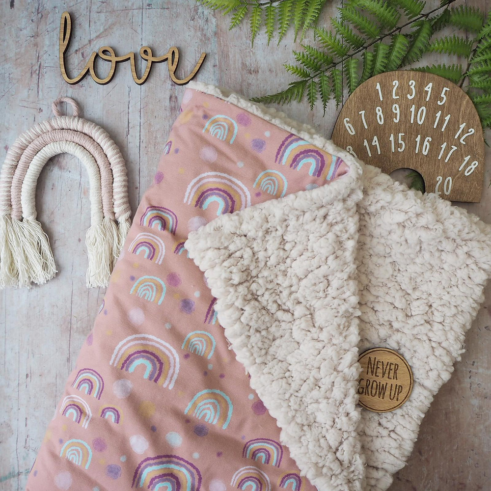 Personalised family blankets