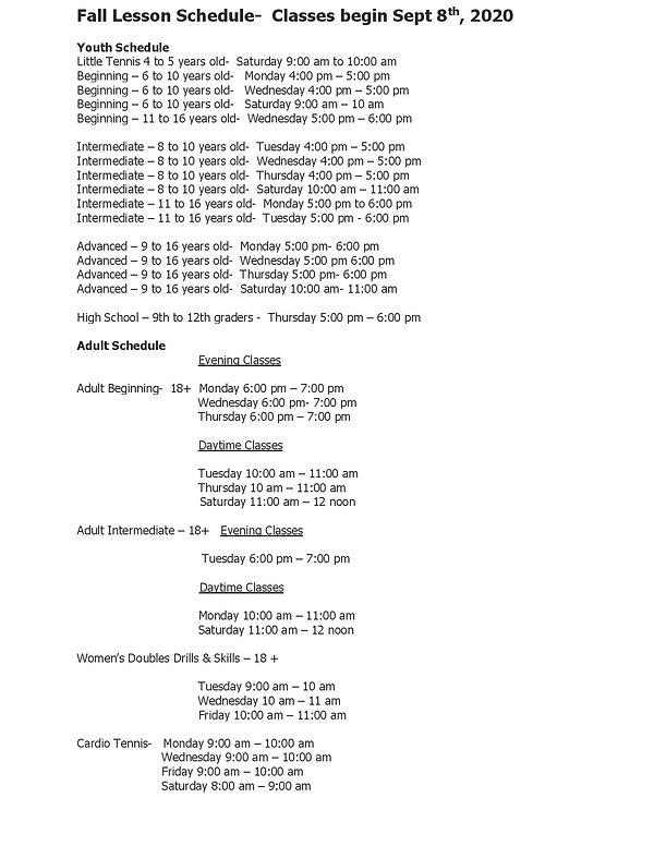 Loveland 2020 Fall Lesson Schedule-page-