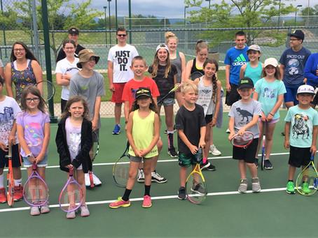Fun Pre- CARA Camp for City of Loveland Tennis Program