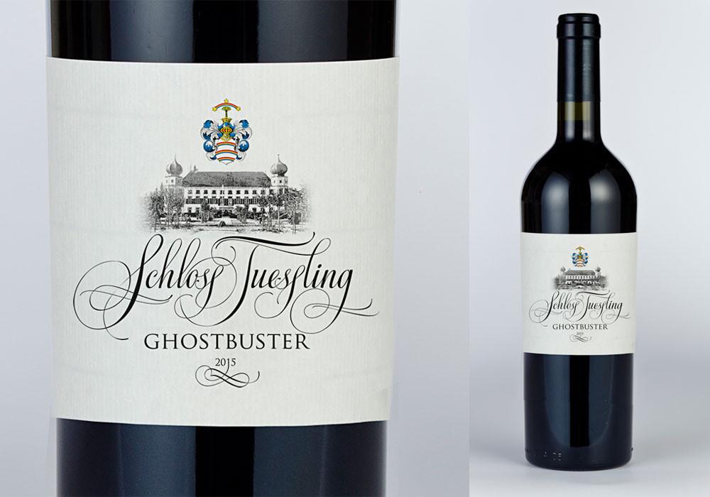 Design wine brand for castle near Munich Schloss Tuessling (Germany)