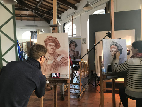 study fine arts in Florence