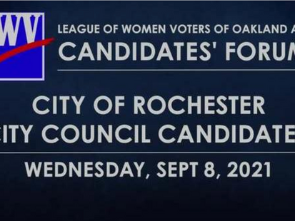 Check out the Rochester City Council candidate debate!