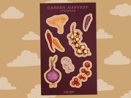Garden Harvest  - Sticker Sheet