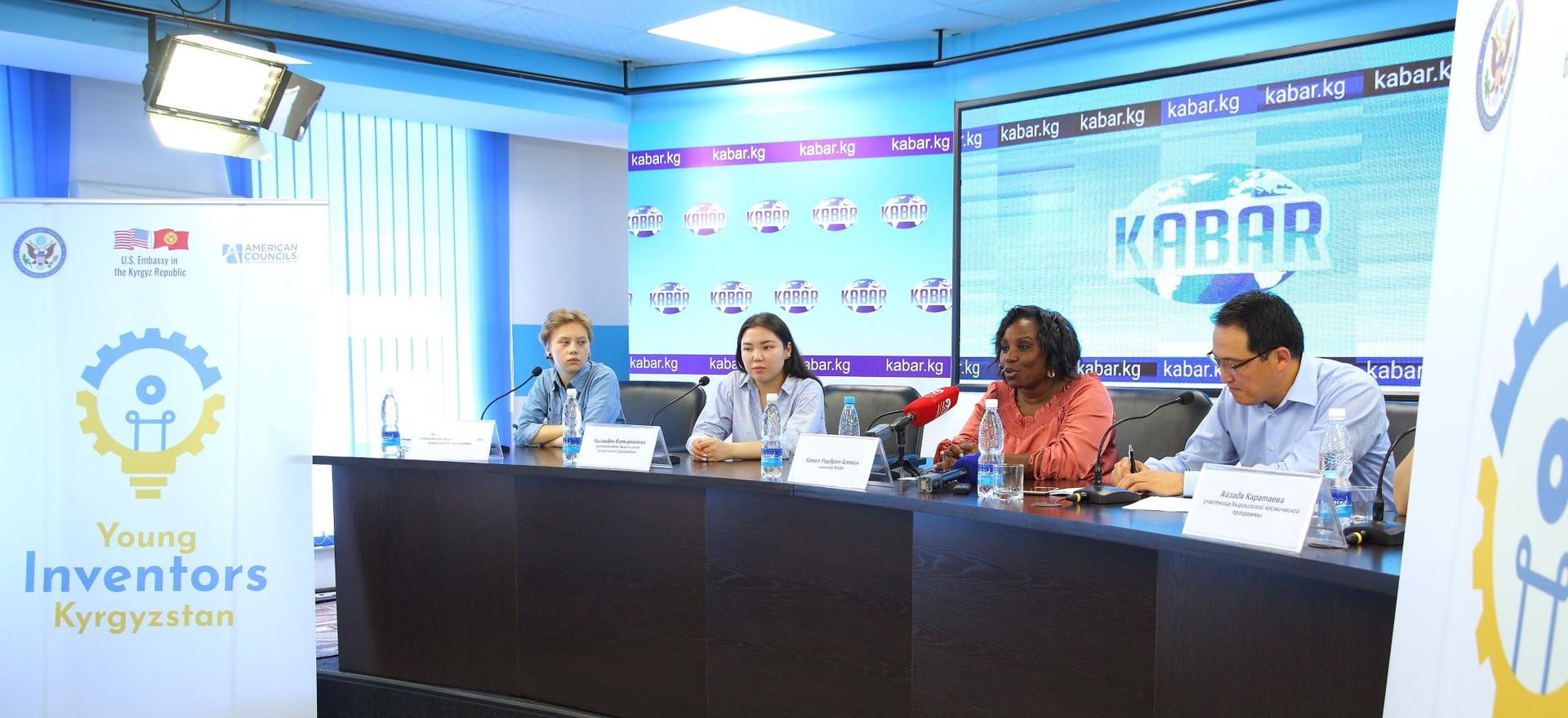 Media Interview - Bishkek