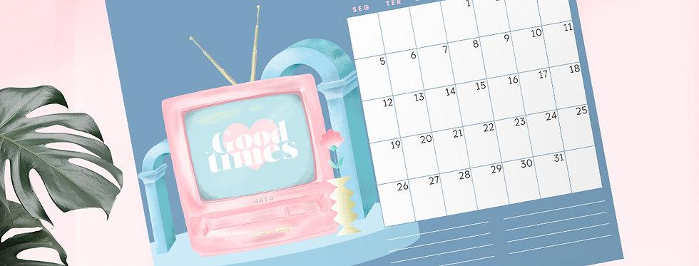 Calendario Ilustrado 2021