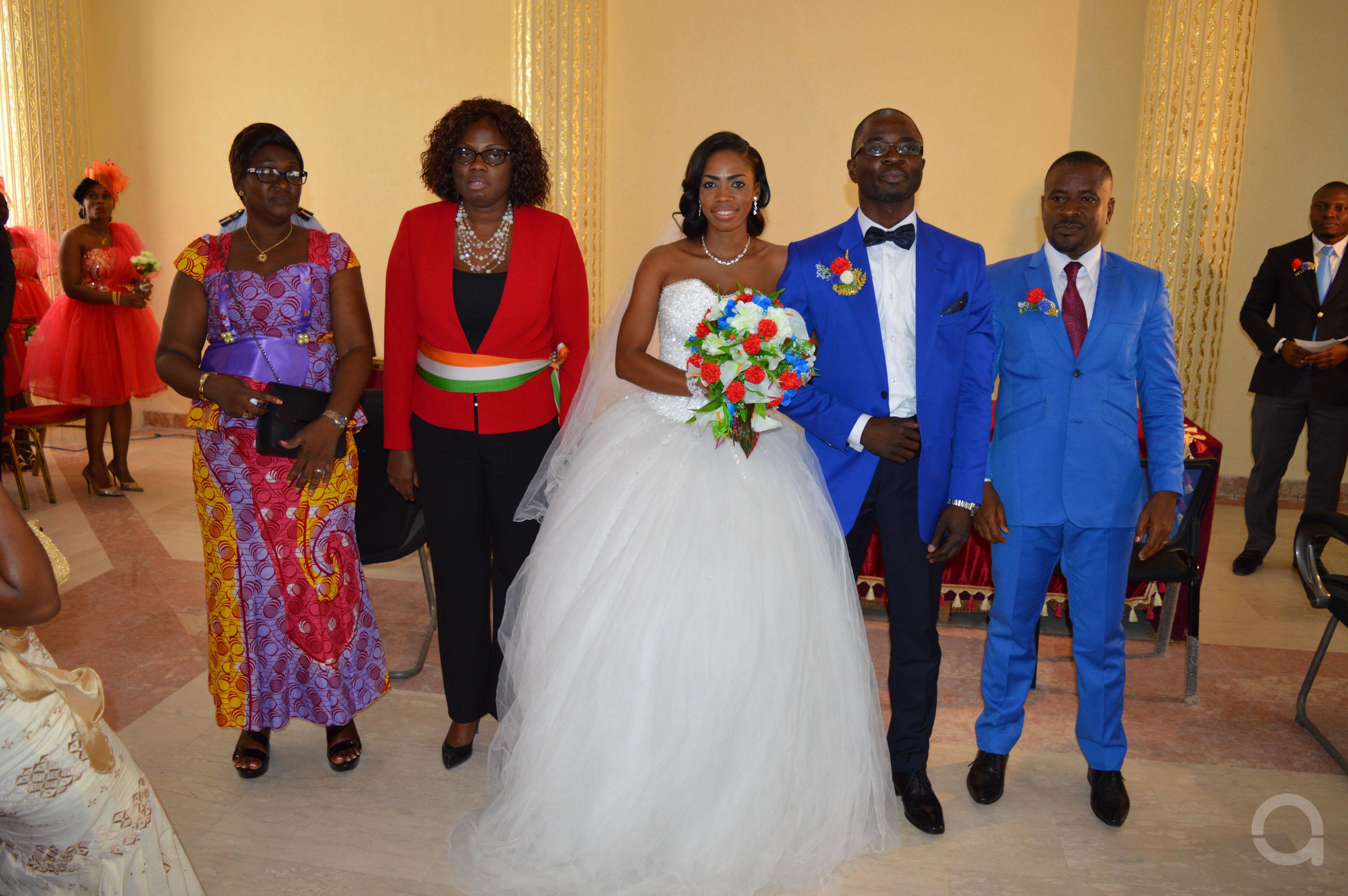 Mariage couple EHOUMAN 5
