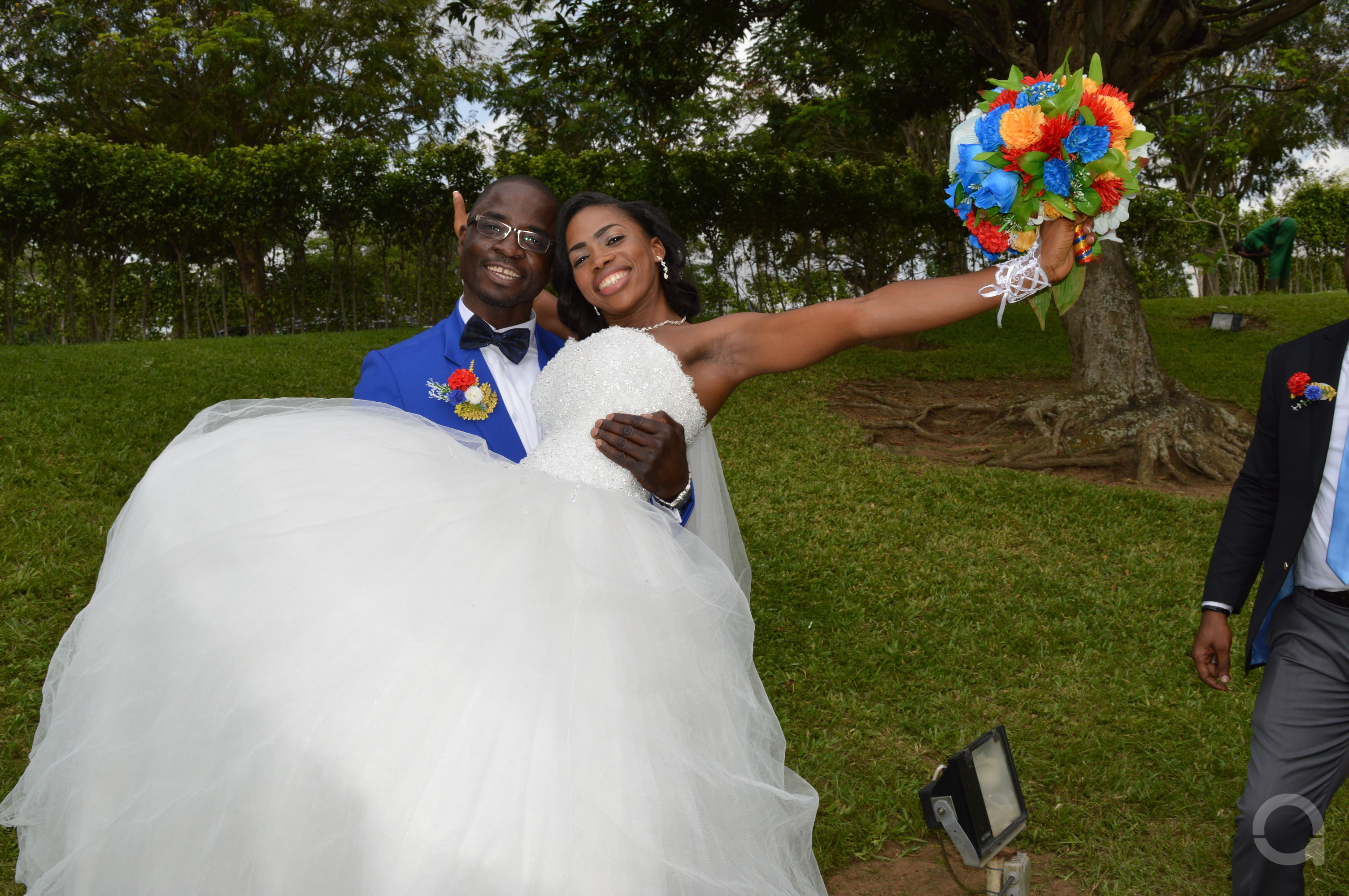 Mariage couple EHOUMAN 11