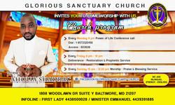 Affiche church
