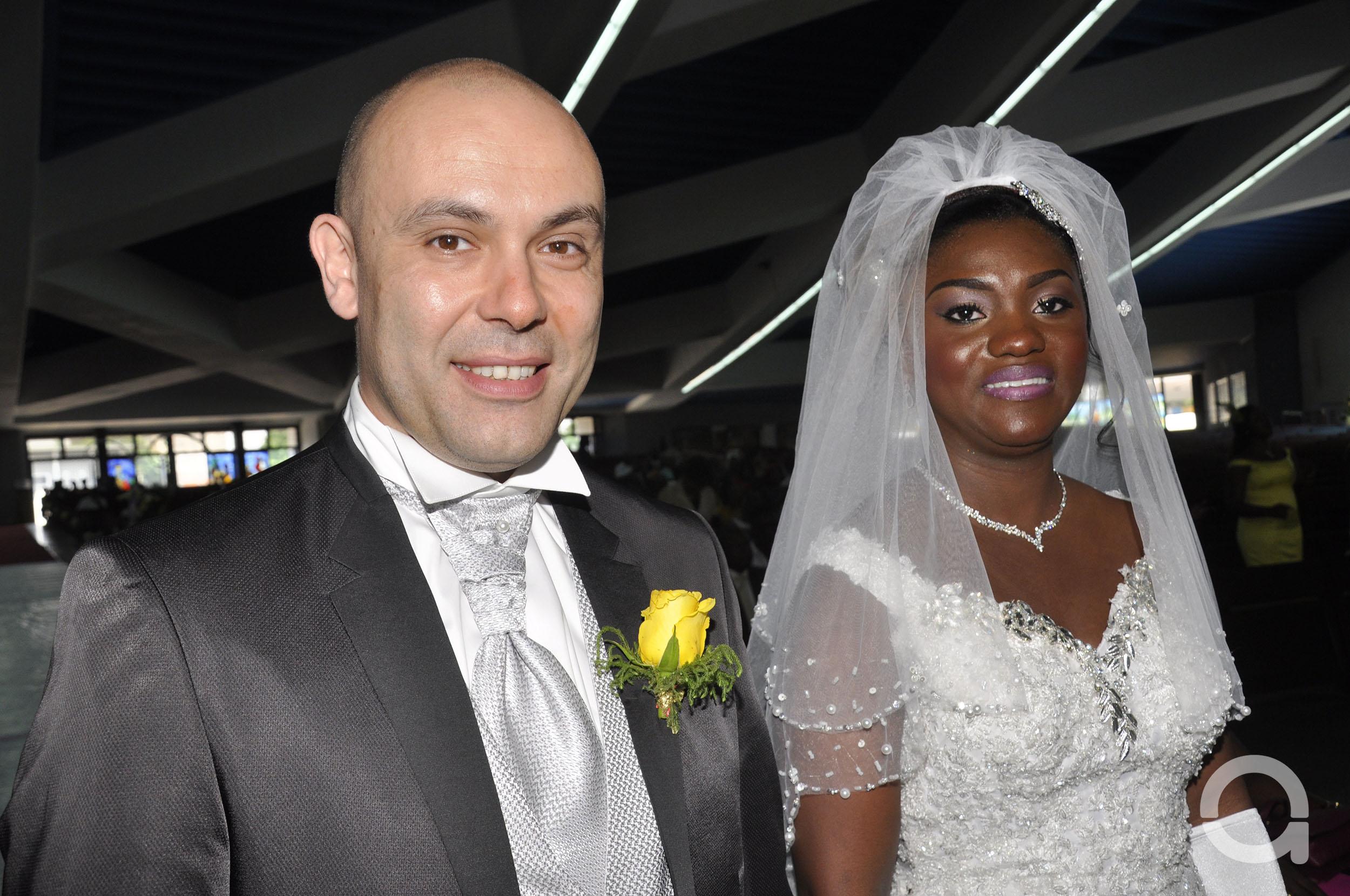 Mariage couple DHAMCHIA 1