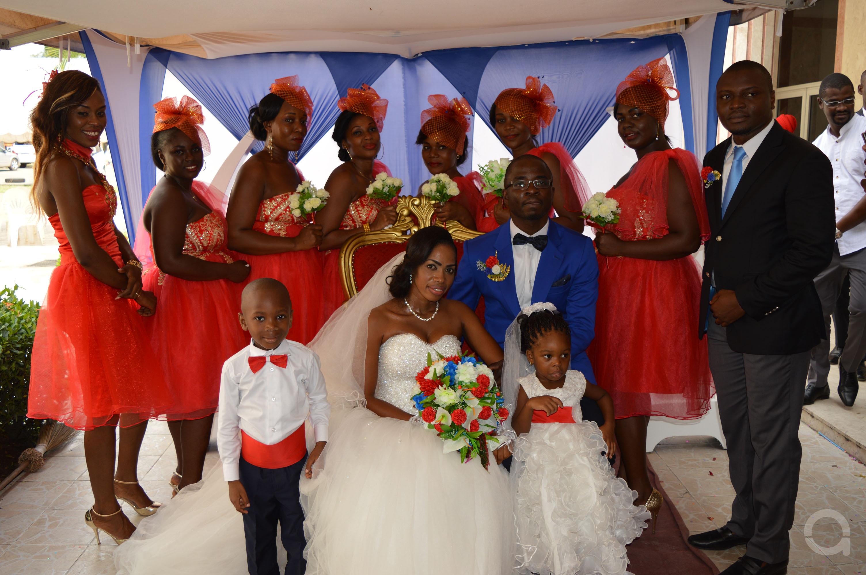 Mariage couple EHOUMAN 6