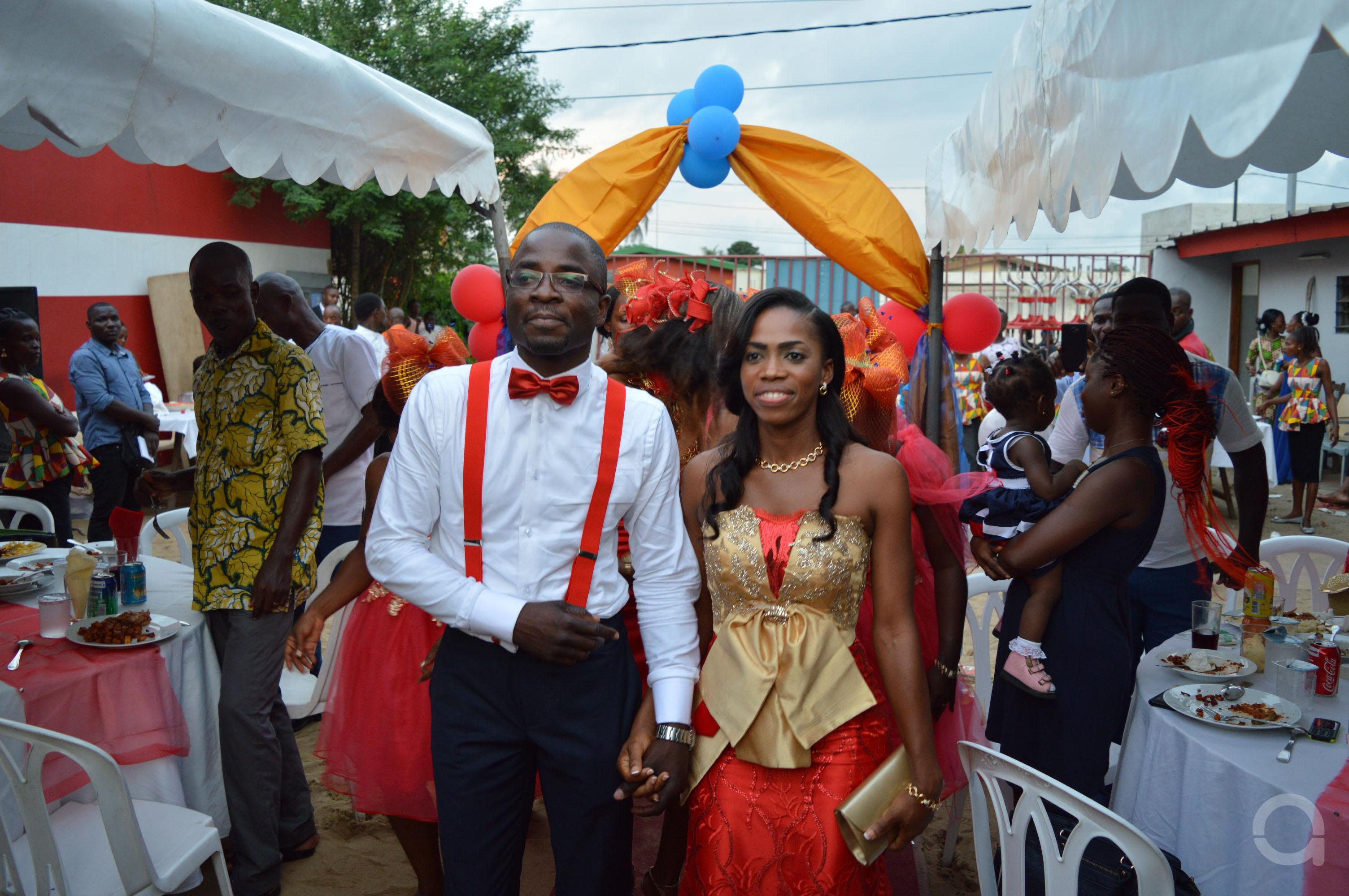 Mariage couple EHOUMAN 12