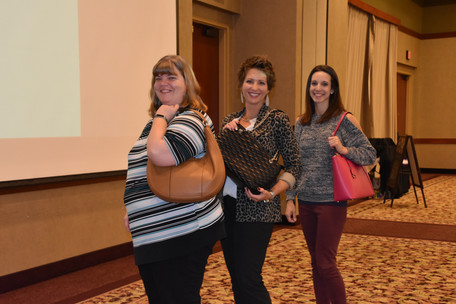 Our lovely purse winners!