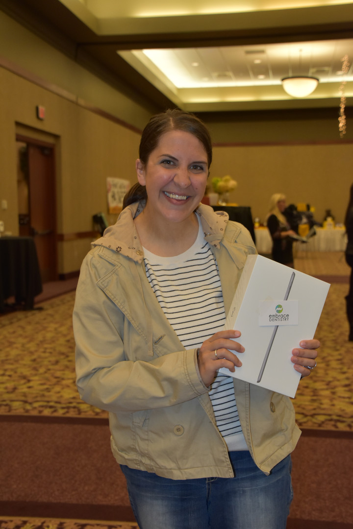 Erin McBurney wins iPad!