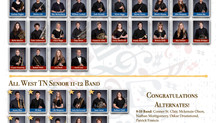 2021 All West Band Students
