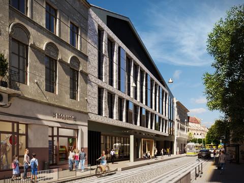 """Міжнародний конкурс """"Торгового центру з готельним блоком Grand Hotel Lviv та конференц-залом"""""""